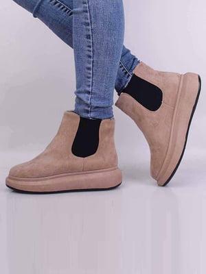 Ботинки бежевого цвета | 5650618