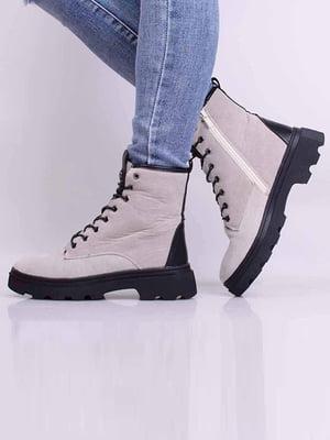 Ботинки серые | 5650622