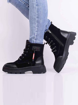 Ботинки черные | 5650624