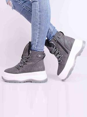 Ботинки серые | 5650629