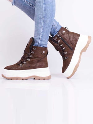 Ботинки коричневого цвета | 5650630