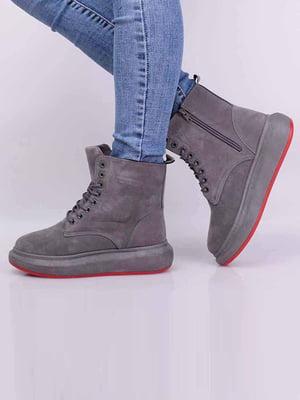 Ботинки серые | 5650632