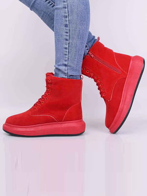 Ботинки красного цвета | 5650633