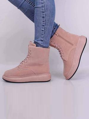 Ботинки розового цвета | 5650634