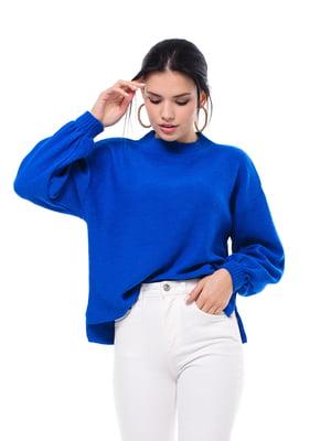 Джемпер яскраво-синій | 5632278