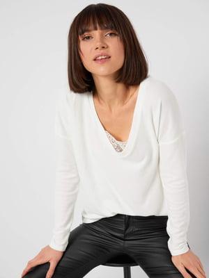 Пуловер білий  | 5647169