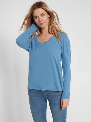 Пуловер блакитний | 5647170