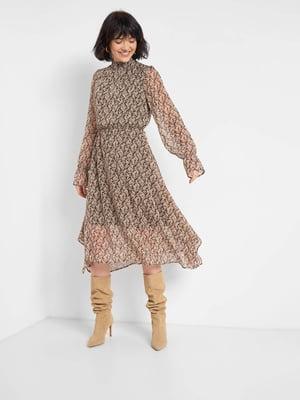Платье в цветочный принт | 5647203