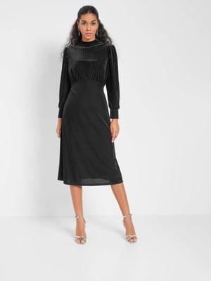 Сукня чорна з візерунком | 5647206