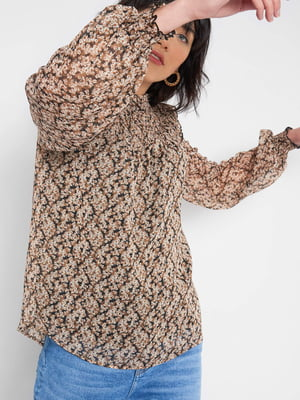 Блуза в квітковий принт | 5647279