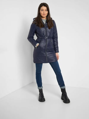 Пальто темно-синее | 5647310