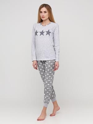 Піжама: лонгслів і штани   5600760