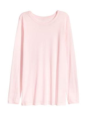 Лонгслів світло-рожевий | 5652218