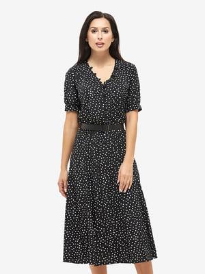 Сукня чорна в горошок   5655243