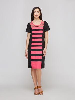 Платье двухцветное в полоску | 5655265