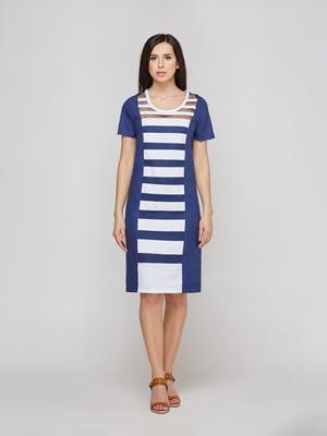 Сукня двоколірна в смужку   5655269