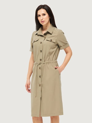 Сукня кольору хакі | 5655226