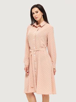 Сукня рожева в горошок | 5655248