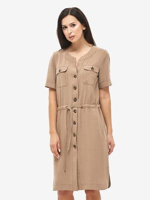 Платье коричневое | 5655242