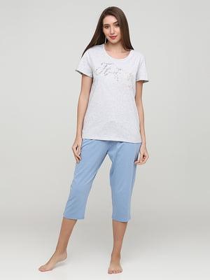 Комплект: футболка и капри | 5625582