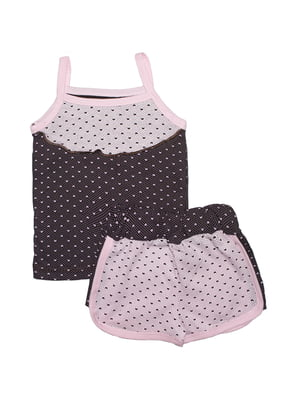 Пижама: майка и шорты | 5655562