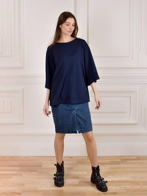 Юбка джинсовая синяя | 5347313