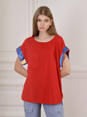 Блуза червона  | 5364020