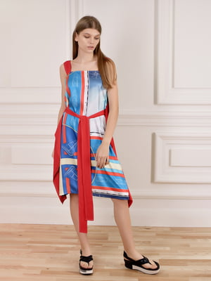 Платье комбинированной расцветки | 5471730