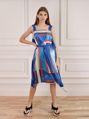 Платье комбинированной расцветки   5471731