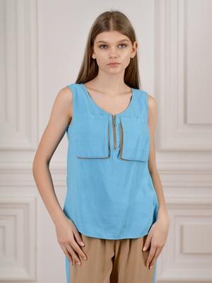 Блуза голубая | 5471736
