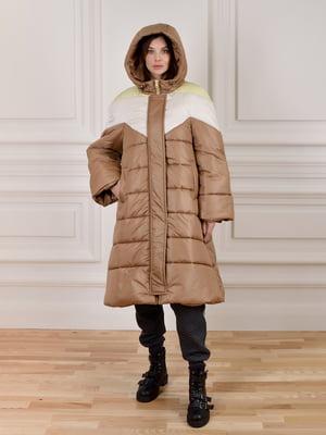 Куртка комбинированной расцветки   5655380