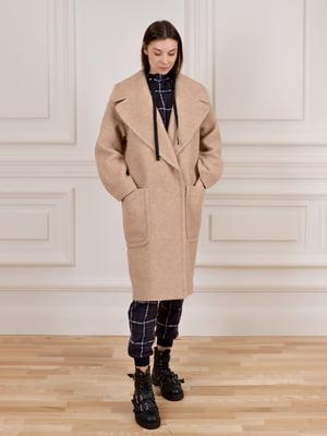 Пальто бежевое | 5655410