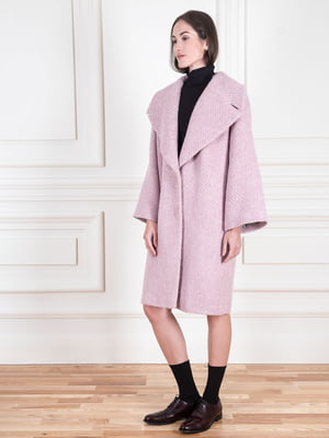 Пальто сиреневого цвета | 5567066