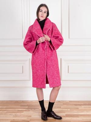 Пальто малинового цвета | 5567068