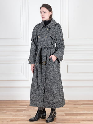 Пальто темно-серое | 5567075