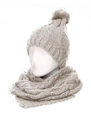 Комплект: шапка и шарф | 5646740