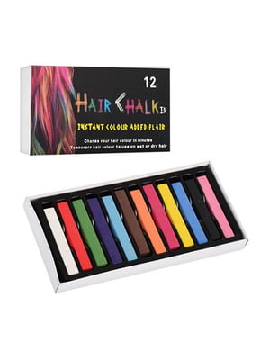 Набор мелков для волос (12 шт) | 5653134