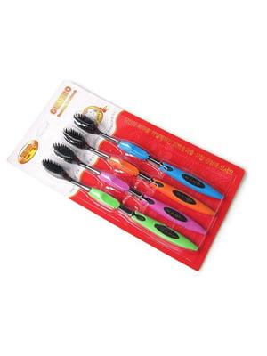 Набор щеток зубных бамбуковых (4 шт) | 5653140