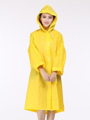 Плащ-дождевик желтый | 5653195