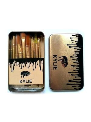 Набор кисточек для макияжа (12 шт) | 5653229