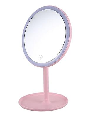 Дзеркало з підсвічуванням і вентилятором настільне   5653269