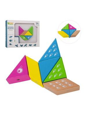 Геометрика деревянная магнитная (6 деталей) | 5653271