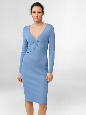 Платье голубого цвета | 5647270