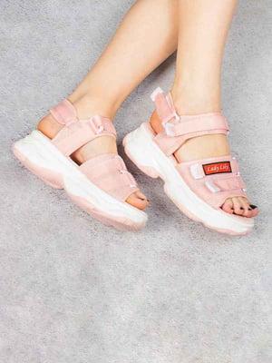 Сандалі рожевого кольору   5656930