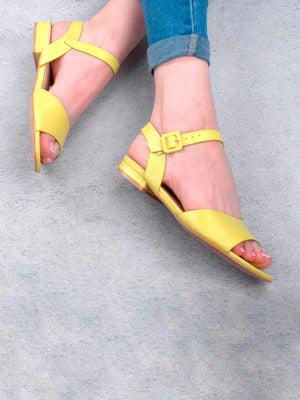Босоножки желтые | 5657240