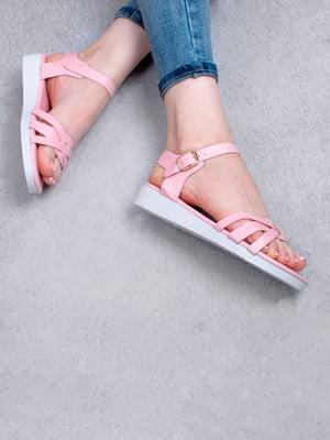 Сандалии розового цвета | 5657245