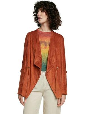 Жакет терракотового цвета | 5635988