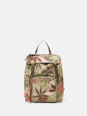 Рюкзак разноцветный в принт | 5636048