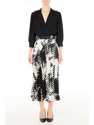 Платье черно-белое | 5656710