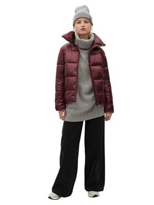 Куртка бордовая   5646812
